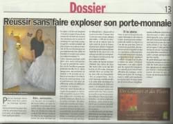 """Le Boudoir de la Mariée dans """"L'Hebdo Le Comtadin"""""""