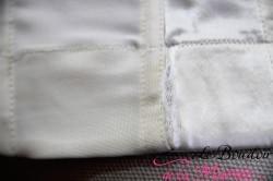 "Bustier ""Vie Privée"" dos profond robe de mariée"