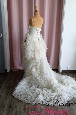 """Robe de mariée Italia """"Hervé Mariage"""""""