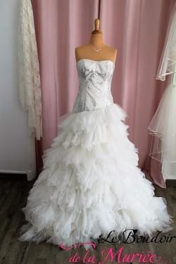 "Robe de mariée Inca ""Hervé Mariage"""