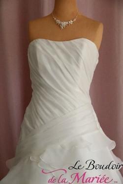 """Robe de mariée Carmen d'Amour """"Pronuptia"""""""