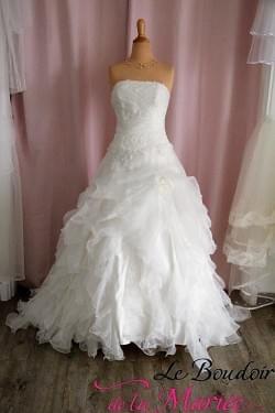 """Robe de mariée Organza """"Bella"""""""