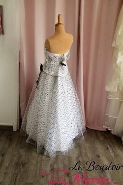 "Robe de mariée Plumetis ""Point Mariage"""