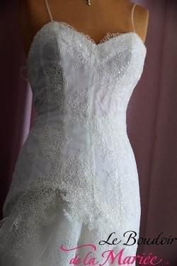 "Robe de mariée Idole ""Mariées de Paris"""