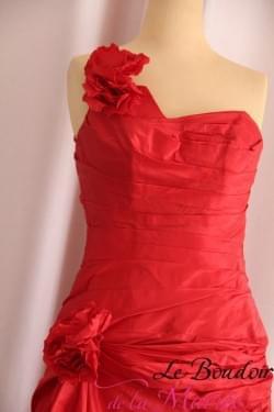 """Robe de mariée / Cocktail Rouge """"Cymbeline"""""""
