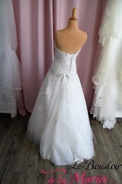 robe de mariée monica dentelles