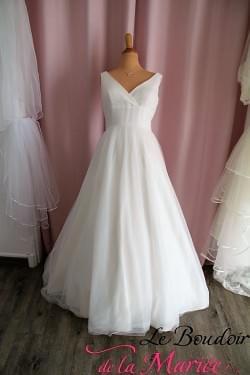 "Robe de mariée ""Lilly"" tulle fluide"