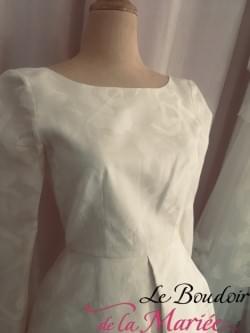 """Robe de mariée / cocktail Rose Poudré """"Rime Arodaky"""""""