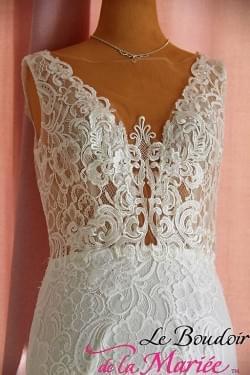 """Robe de mariée Agnès """"R. Framboise"""""""