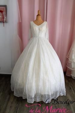 """Robe de mariée Paillettes """"TL Mariage"""""""