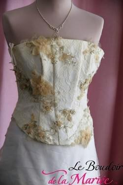 "Robe de mariée Eglantine ""Aurye Mariage"""