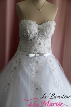 "Robe de mariée Princesse ""Costa Esperanza"""