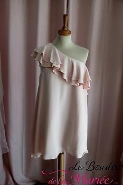 robe de mariée courte hazel cocktail elise hameau