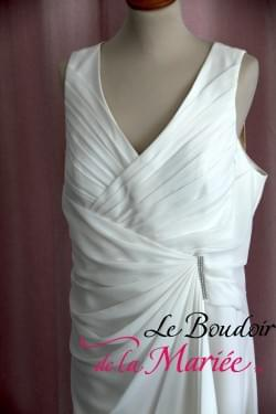 """Robe de mariée mousseline """"Créatif Paris"""""""