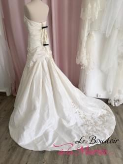 """Robe de mariée Fourreau """"Pronuptia"""""""
