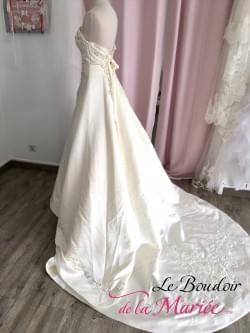 "Robe de mariée Satin ""La Sposa"""