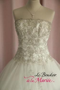 "Robe de mariée Précieuse ""Point Mariage"""