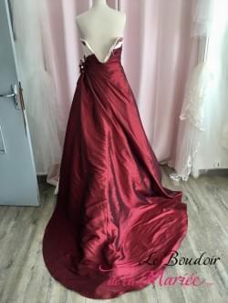 """Robe de mariée Esperanza Rouge """"Inn Love-Pronuptia"""""""